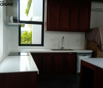 PROJECT: MẶT BẾP SOLID SURFACE CORIAN